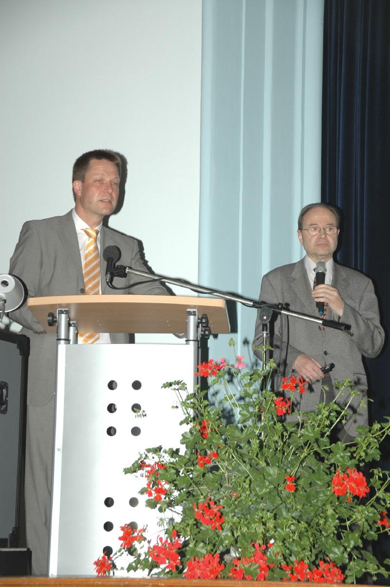 Prof. Dr. Hecht beim 1. Allgäuer Neurologie Symposium